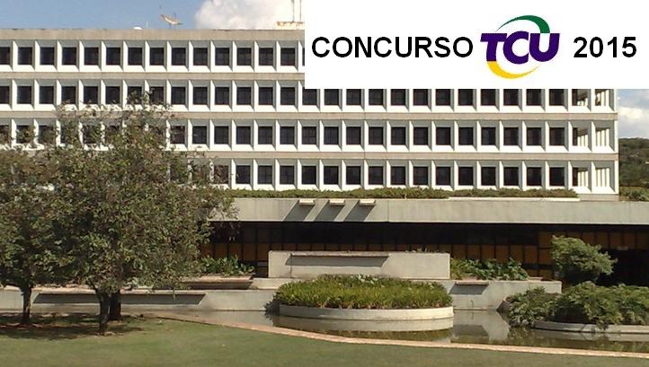 TCU abre inscrições para concurso 2015