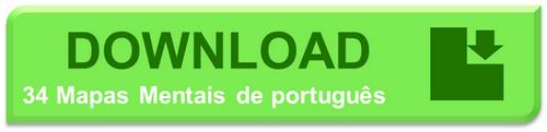 mapas mentais de portugues