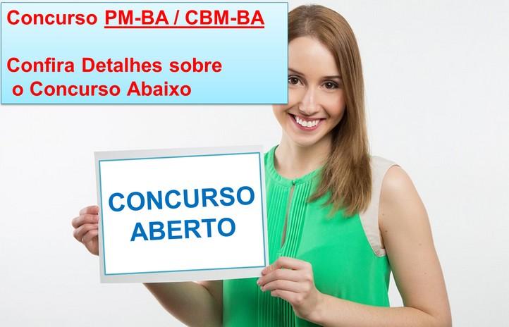 concurso pm ba e cbm ba 2017