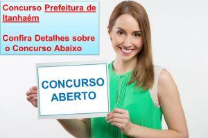 concurso prefeitura itanhaem sp 2017