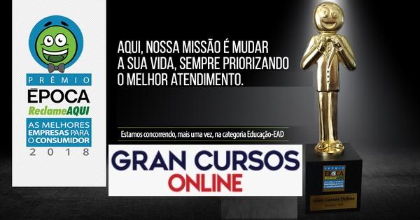 Prêmio Reclame Aqui Gran Cursos