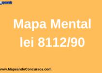 Mapa mental Lei 8112/90