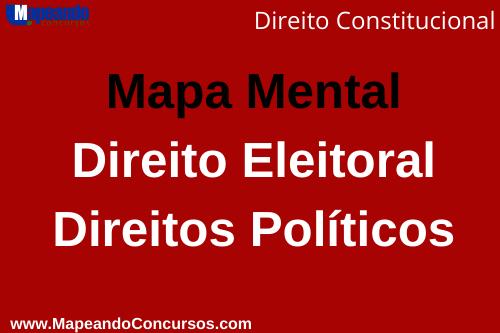 Mapa Mental direito eleitoral e direitos políticos