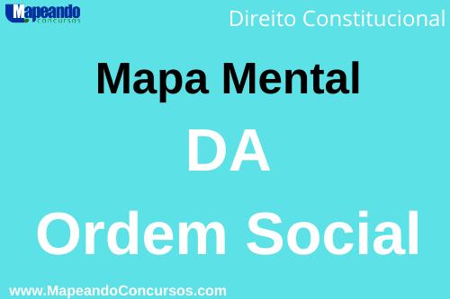 mapa mental da ordem social – direito constitucional